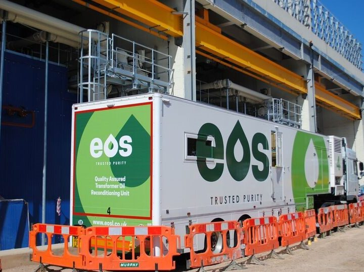 EOS plays a vital role in ground-breaking project in London